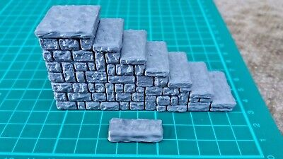 Dragonlock Ultimate - 3D Printed - Dungeon stairs. DnD terrain RPG
