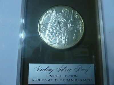 1971 Christmas Sterling Silver Proof Coin