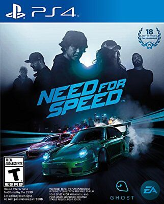 Need for Speed PlayStation 4 Ps4 Games Sony Brand New Factory Sealed Cars Game
