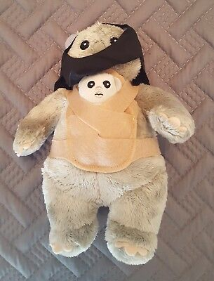 Star Wars Collectible Ewok Stuffed Plush Toy (New in Package)