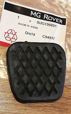 New Genuine MG Rover Brake/Clutch Pedal Rubber SUG100001