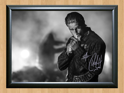 Charlie Hunnam Sons of Anarchy Signed Autographed A4 Photo Poster TV Memorabilia