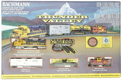 Bachmann Trains Thunder Valley Ready-to-Run N Scale Train Set