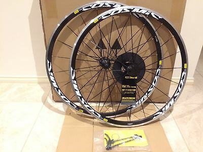 Mavic Cosmic Elite Black 700c Clincher 700c Wheels F&R Wheelset Shimano/SRAM 11s