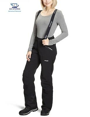 Bergans, Pantaloni Donna Oppdal Insulated, Nero (Black), L