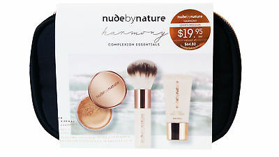 Nude By Nature Harmony Complexion Essentials Light / Medium Mineral Primer Cover