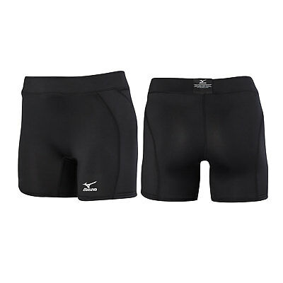 Mizuno Low-Rise Padded Women's Fastpitch Softball Sliding Short - Black - Small