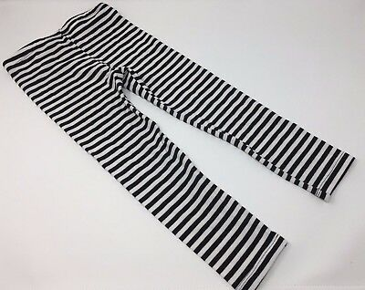 New~ Black and White Striped Leggings ~Super Cute by Circo