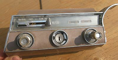 1961 1962 1963 Lincoln Continental Lower Dash Parts for Restoration