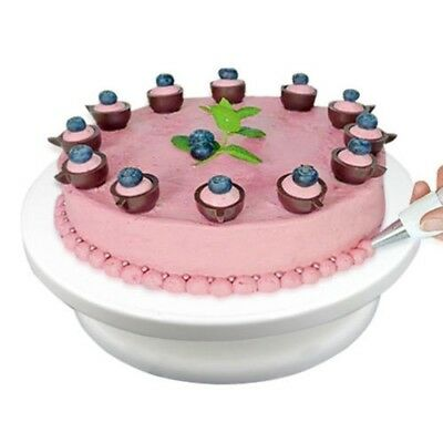 28cm Kitchen Rotating Icing Cake Decorating Turntable Display Movable Stand Tool