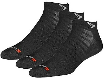 (Medium (W7.5-9.5 / M6-8), Black 3-Pack) - Drymax Run Hyper Thin Mini Crew Socks