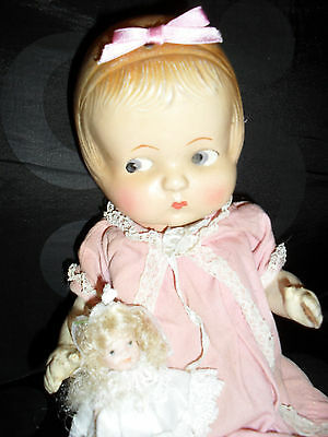 "ANTIQUE PATSY RARE DOLL PART COMPOSITION""REPAIR? /free postage & insurance"