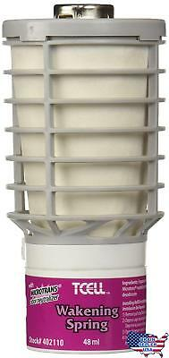 Rubbermaid Commercial Products Tcell Air Freshener Refill, Wakening Spring, FG40