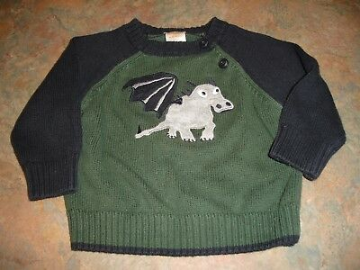 Gymboree Dragon Sweater Pullover    6-12 Months