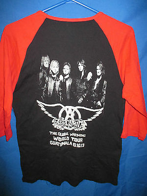 Aerosmith 2013 Global Warming Tour T-Shirt - Size XXL