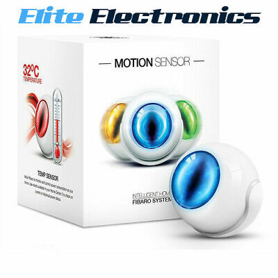 Fibaro Fgms-001 Z-Wave Motion Motion, Light And Temperature Sensor