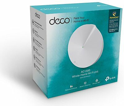 TP-LINK DECO M5 1 PACK AC1300 MESH Wireless Dual Band Networking Unit F45