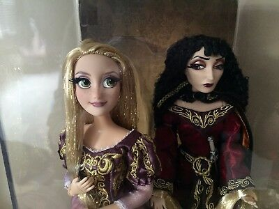 Disney Store Rapunzel and Mother Gothel Doll Set - Fairytale Designer Collection