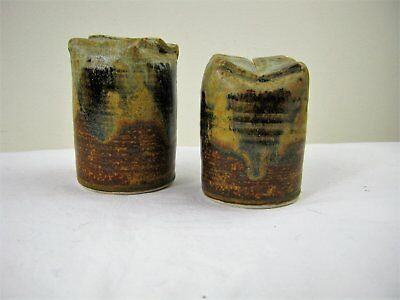 Pottery Salt & Pepper