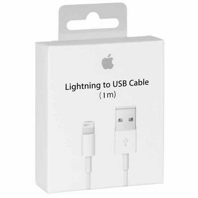 2 Pack Genuine Iphone Apple High Quality Oem Lightning Usb Retail Box 1M - 3Ft