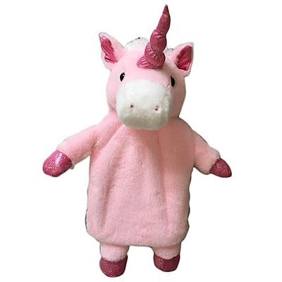 new plush magical unicorn hot water bottle and cover-fantasy-emo-rainbow brite
