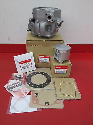 NEW GENUINE OEM HONDA CYLINDER JUG 1989-2001 CR500R w/ PISTON KIT and GASKETS