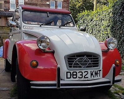 1986 Citroen 2cv DOLLY Special Red White 2cv6 classic (3 owners)