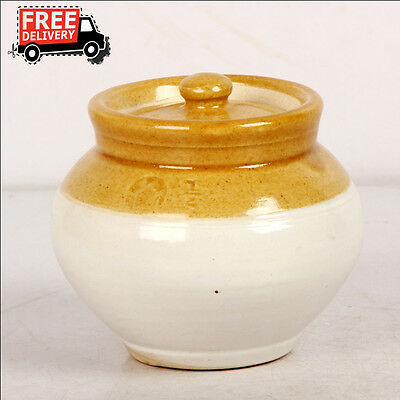 New Hand Carved Unique Pickle Sugar Kitchen Commodity Jar No 1/2, 8169