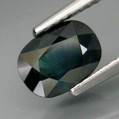 1.70Ct.Precious Gem! Natural Top Blue Normal Heated Sapphire Africa