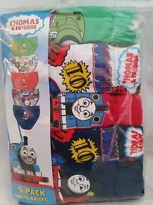 THOMAS AND FRIENDS Licensed Boy 5x briefs undies jocks cotton NEW sizes 2-6