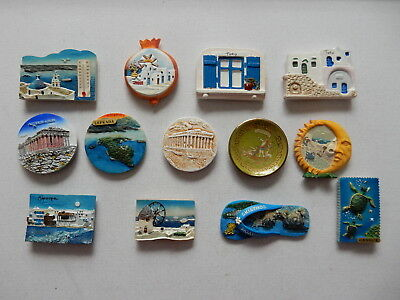 One Selected 3D Souvenir Fridge Magnet from Greece