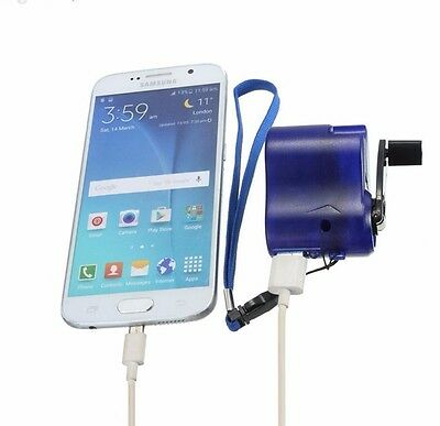 phone generator charger usb emergency phone recharge no batteries, free delivery