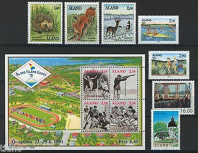 Aland (Åland) 1991, Year set in pristine MNH condition