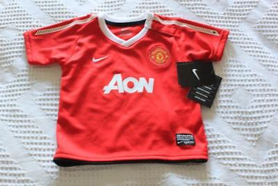 MANCHESTER UNITED NIKE  BABY SHIRT 9-12 months - BNWT's