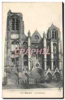CPA Bourges La Cathedrale