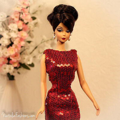 Last One New Red Dress Only For Barbie Silkstone Fashion Royalty Poppy Outfit