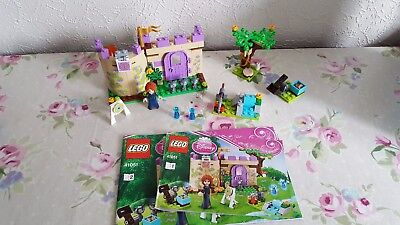 Lego Disney Friends 41051 Meridia Highland Games with instructions