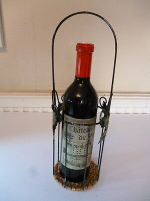 Large Wine Bottle Pepper Mill And Wine Bottle Carrier