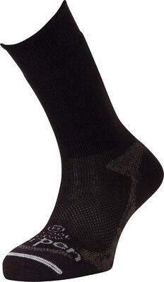 (Medium, Black) - Lorpen Uniform Merino Socks. Delivery is Free