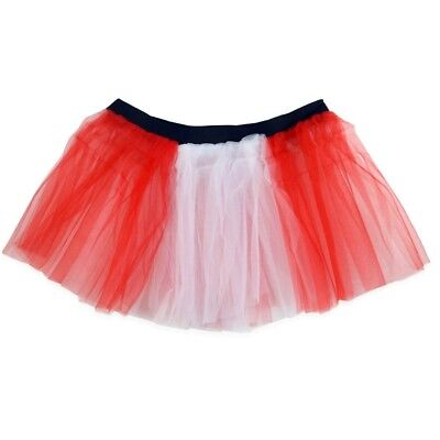 (Red and White) - Runners Tutu | Lightweight | One Size Fits Most | Colourful