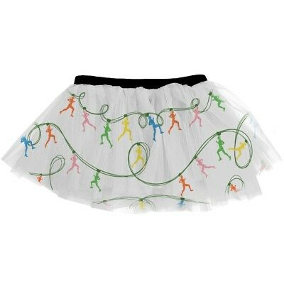 Gone For a Run Runner's Printed Tutu Runner String Lights. Shipping is Free