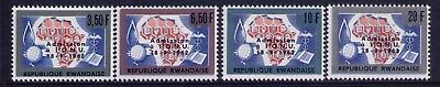 RWANDA Stamps 1962 Admission to UN  Sc#  9-12 Cpl. MNH set