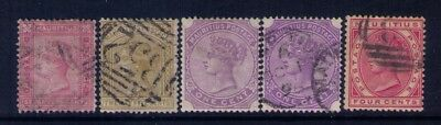 MAURITIUS Stamps, QV SC# 63-64;68;71 Used/MH, CV:$30