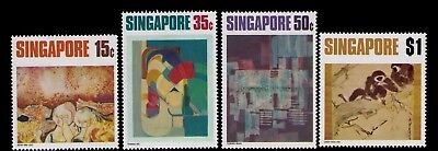 Singapore Stamps,SC# 153-156 Cpl.MLH Set,CV:$14.75