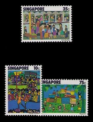 Singapore Stamps,SC# 285-287 Cpl.MLH Set,CV:$4.60