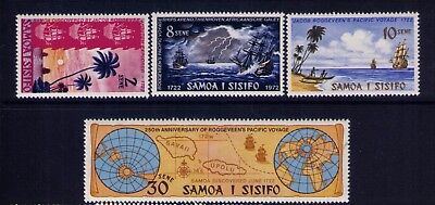Samoa stamps Scott # 365-8 Cpl. MH Set, CV:$4