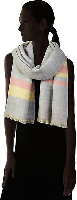Esprit Women's Scarf Lasting Quality 100% Polyacrylic Style Multicoloured Yellow