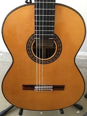2001 Juan Hernandez Maestro Spanish Classical Guitar Made In Valencia, Spain