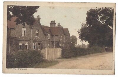 EVERSHOLT Witts End, Beds, Old Postcard by ER Lovell, unused, RA Series