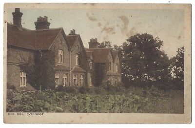 EVERSHOLT Rush Hill, Beds, Old Postcard by ER Lovell, unused, RA Series